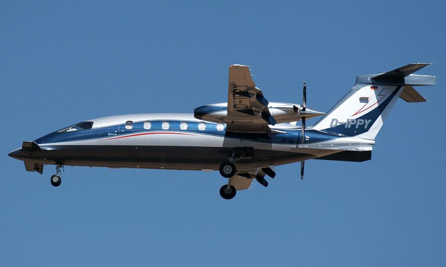 DIPPY-Landeanflug
